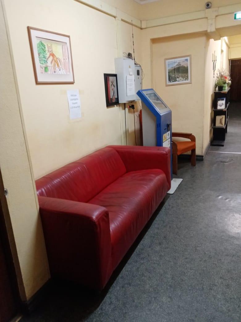 Коридор в общежитии